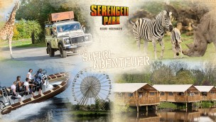 Serengeti Park Hodenhagen Gutschein für kostenlosen Eintritt 2014