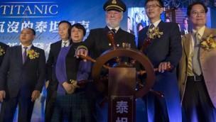 Titanic-Freizeitpark mit realistischer Untergangs-Simulation geplant