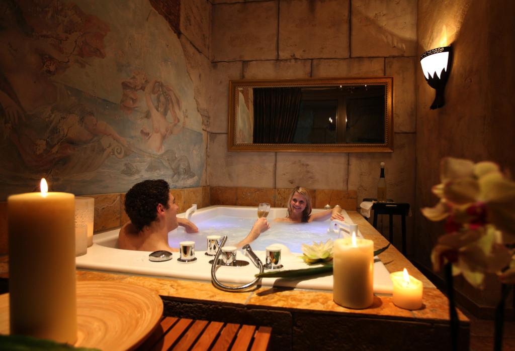 Einblick in den Wellness-Bereich des Hotel Colosseo. (Bildquelle: Europa-Park)