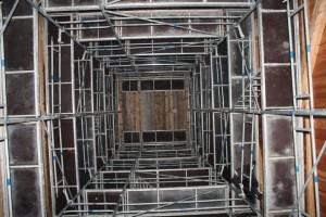 Bayern Park - Aussichtsturm Baustelle