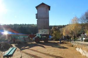 Bayern Park - Turm Thaolon Baustelle