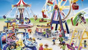 Spielzeug-Freizeitpark von Playmobil im Detail