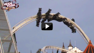 Revolution Roll: 5. Manöver des Heide-Park Flug der Dämonen im Video