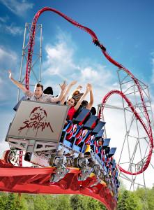 Holiday Park Sky Scream Key-Visual