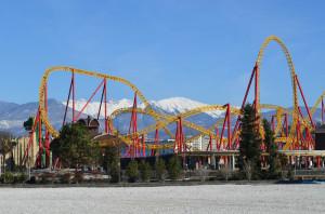 Dragon Achterbahn im Sochi Park