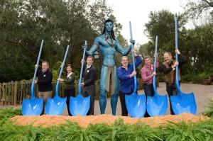 Spatenstich für Avatar-Land in Disney's Animal Kingdom Park