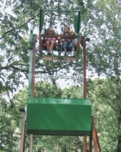 Überflieger im Freizeitpark Allensbach