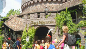 Burg Falkenstein im Holiday Park