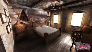 Dämonenzimmer im Heide-Park Hotel