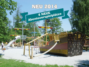 Eifelpark Gondorf Spielplätze 2014