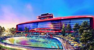 Ferrari Land Hotel PortAventura Concept 1