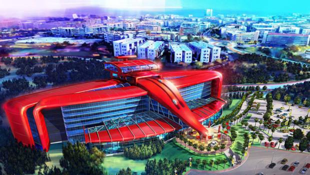 Ferrari-Hotel PortAventura Concept 2