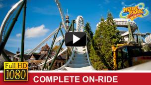 Flug der Dämonen OnRide-Video vom Heide-Park Wing Coaster