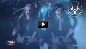 Heide-Park zeigt Werbespot 2014 zum Flug der Dämonen