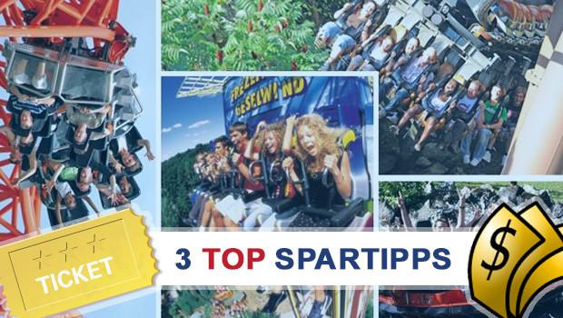 Freizeitpark TOP Spartipps - Saisonstart 2014