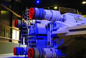 LEGO X-Wing Starfighter Rückseite