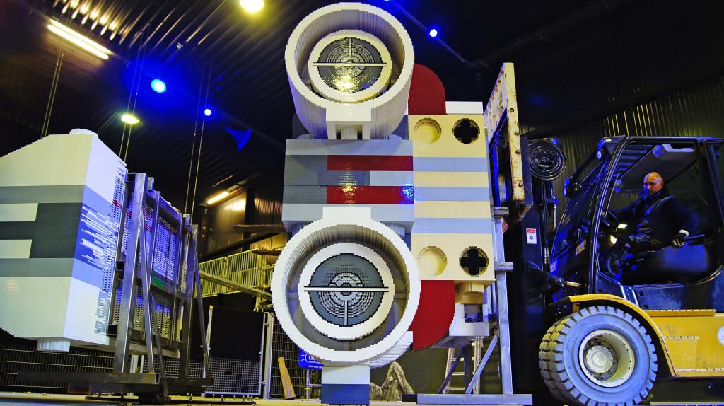 Turbinen des LEGO X-Wing Starfighter