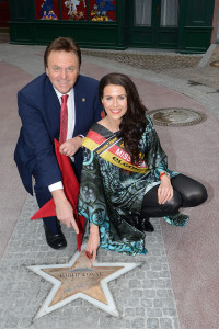 Miss Germany Walk of Fame im Europa-Park