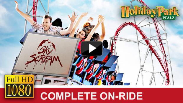 Sky Scream OnRide-Video im Holiday Park