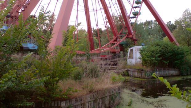 Riesenrad im Berliner Spreepark