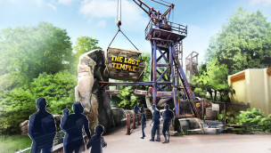 Movie Park Germany – Baustellen-Update aus dem Herzen von The Lost Temple