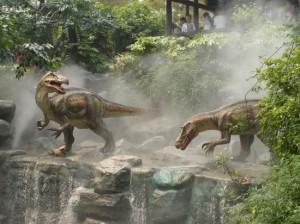 Dinosaurier Park NRW Konzeptgrafik 1