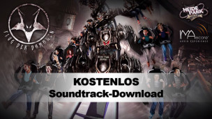 Flug der Dämonen Soundtrack: kostenloser Musik-Download des Heide-Park Wing Coaster