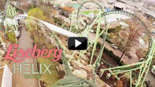 Liseberg – Helix OnRide-Video zur neuen Achterbahn 2014