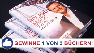 """Gewinnspiel: 3x Buch """"Roland Mack: Herr der Achterbahnen"""" gewinnen"""