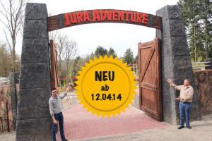 Jura Adventure Eingang im Taunus Wunderland