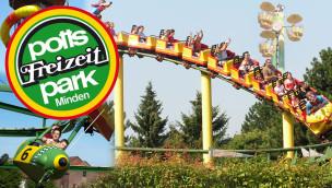 potts park Minden Neuheit 2014: Fliegende Fische eröffnet