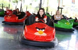 Angry Birds Autoscooter im Thorpe Park