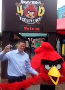 Angry Birds Land Eröffnung im Thorpe Park