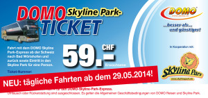 Domo Skyline Park-Express Ticket