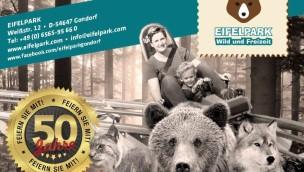 Eifelpark Gondorf – Sonder-Eintrittspreis beim großen Jubiläumsfest: nur 10 Euro von 9 bis 23 Uhr
