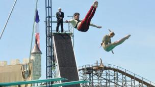 """Europa-Park stellt neue High Dive Show """"Acrosplash"""" 2014 vor"""