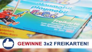 Freikarten-Freitag #1 – Gewinne 3×2 Eintrittskarten für den Playmobil FunPark