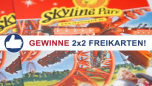 Freikarten-Freitag #2 – Gewinne 2×2 Eintrittskarten für den Skyline Park