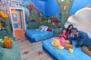 Gardaland Hotel - Sea Life Zimmer
