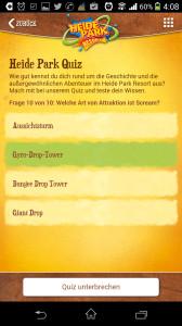Heide-Park Quiz in der App