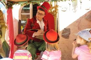 Märchenerzähler im Europa-Park