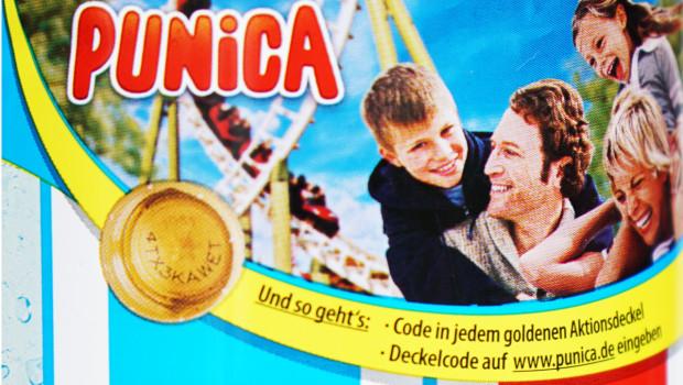 Punica Gutschein für Freizeitpark 2014