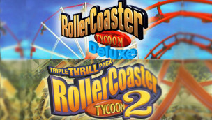 RollerCoaster Tycoon – Klassiker jetzt auf Steam erhältlich