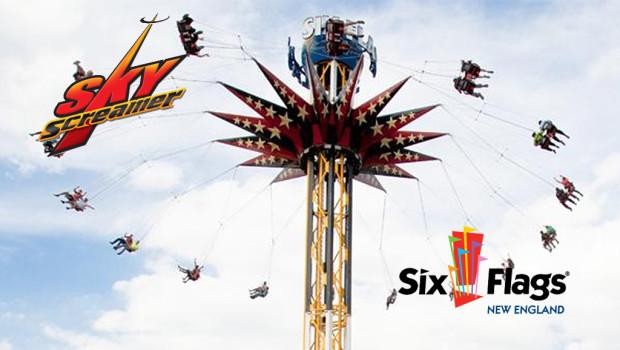 New England Sky Scream - Six Flags