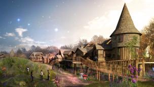Alton Towers baut Märchendorf für neue Übernachtungsmöglichkeiten