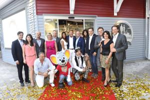 Clinton Store Eröffnung im Europa-Park