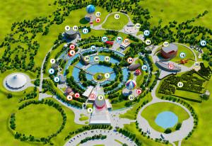 Parkplan - Der kleine Prinz-Freizeitpark