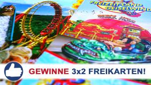Freizeitland Geiselwind: Freikarten-Freitag #4 – Gewinne 3×2 Eintrittskarten