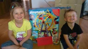 Freikarten-Freitag Gewinner: Playmobil Riesenrad