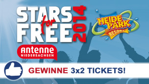Freikarten-Freitag Stars For Free Heide-Park Konzert